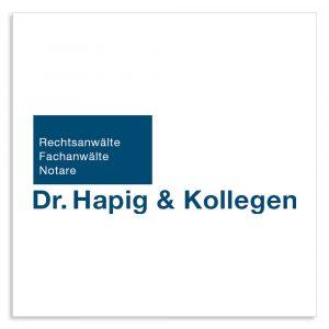Jürgen Brüna Gründerpreis Sponsoren Hapig und Kollegen